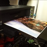One of the photo printers in my home.